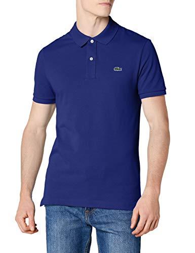 Lacoste Herren Polo T-shirt Ph4012, Ozeanblau, Medium (Herstellergröße: 4)
