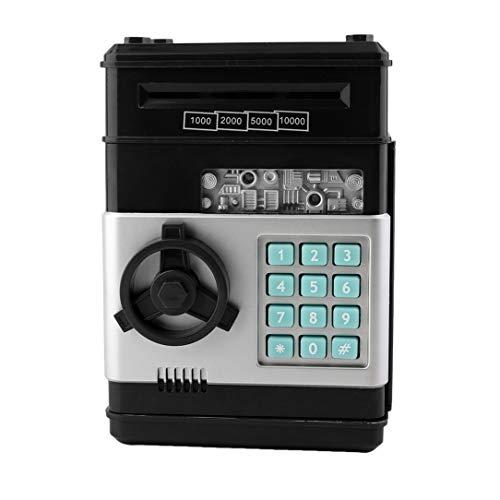 7colors Niños Dinero Caja de Seguridad electrónica Guardar contraseña cajeros automáticos del Banco de Monedas y Billetes Sistema de código de Clave de Caja de la Caja de Ahorro de Dinero