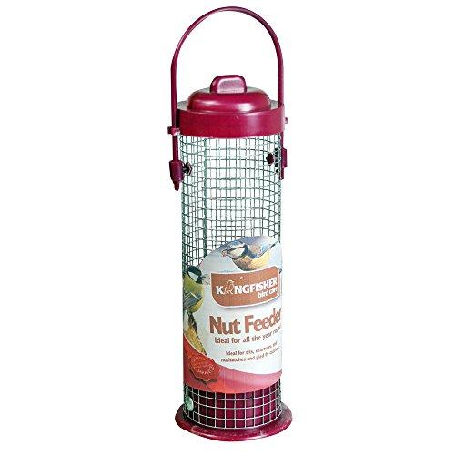 Kingfisher - Dispenser mangime per uccelli pensile, dimensioni standard, 20,32 cm
