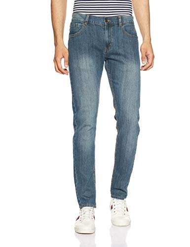 Newport Men's Slim Fit Jeans (275908894_Blue-SS_34)