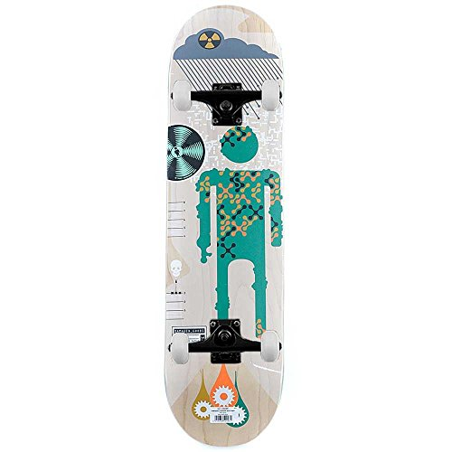 Alien Workshop Skateboard Beni danneggiati piogge acide Skateboard completo naturale (Alien Workshop Skateboard)