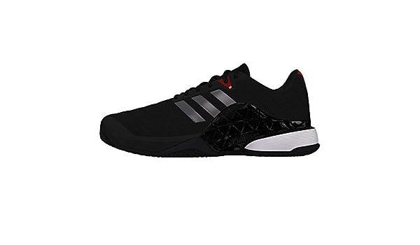 new product 8ed79 c58c3 Adidas Barricade 2018 Clay, Scarpe da Tennis Uomo, Nero  CblackNgtmetScarle, 42 EU Amazon.it Scarpe e borse