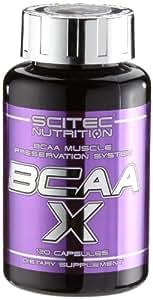 Scitec Ref.101793 Acide Aminé Ramifié BCAA Complément Alimentaire 120 Capsules