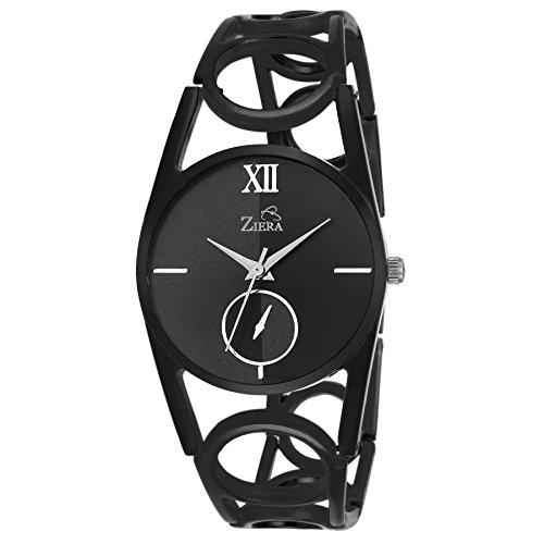 ZIERA analog Black Dial Women\'s Watch - ZR8035