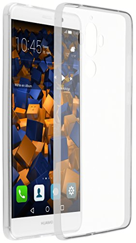 mumbi UltraSlim Hülle für Huawei Mate 9 Schutzhülle transparent (Ultra Slim - 0.70 mm)
