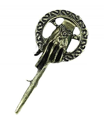Inception Pro Infinite Anstecknadel, Game of Thrones, Game of Thrones, The Song of Ice and Fire - Damen - Herren - Unisex - Geschenkidee - Bronze