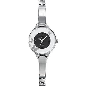 Go Girl Only-695031-Reloj para mujer cuarzo, analógico, correa de metal, color plateado de Go Girl Only