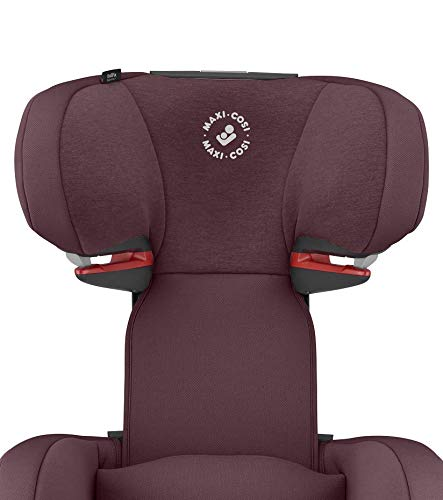 Maxi-Cosi RodiFix AirProtect Child Car Seat, Isofix Booster Seat, Red, 15-36 kg Maxi-Cosi Booster car seat for children from 15-36 kg (3.5 to 12 years) Grows along with your child thanks to the easy headrest and backrest adjustment from the top Patented air protect technology for extra protection of child's head 8