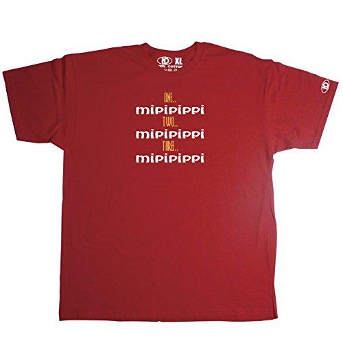 Nicram Designs Herren T-Shirt Rot - Rot