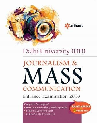 DU Journalism & Mass Communication Entrance Examination 2016