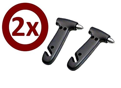 Set 2 Nothammer schwarz inkl. Gurtschneider