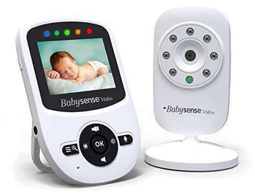 Babysense Video Baby Monitor con Visión Nocturna