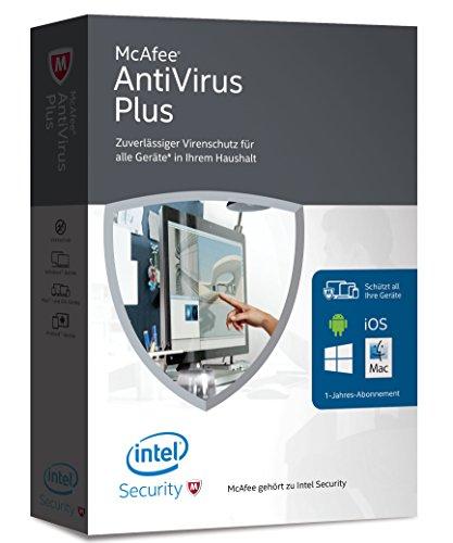 McAfee AntiVirus Plus 2016 - für eine unbegrenzte Anzahl an Geräten (Minibox Verpackung) (Mcafee Antivirus-software)