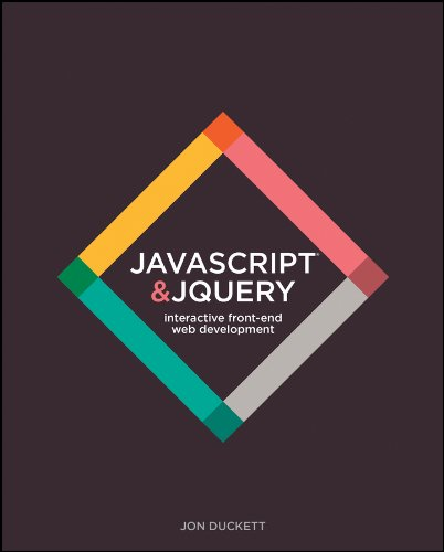 JavaScript and jQuery: Interactive Front-End Web Development Hardcover por Jon Duckett