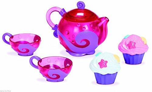 Munchkin - Juego de té y taza de baño para niñas de 24 m + juguete de baño para niños – tetera y tazas