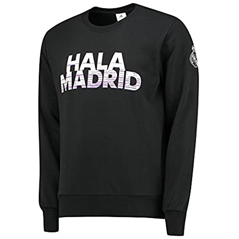 adidas Real Sweat-Shirt Homme, Noir, FR : XL (Taille Fabricant : XL)