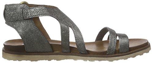 Mjus - 255019-0201-6354, Scarpe col tacco con cinturino a T Donna Argento (Silber (Inox))