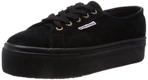 SUPERGA 2790-SUEW, Sneaker Donna, Nero (Full Black A09), 38 EU