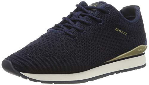 GANT Footwear Damen Linda Sneaker, Blau (Marine G69), 38 EU