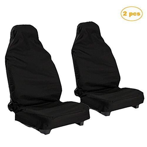 Skitic coprisedile sedile auto impermeabili coprisedili per auto antiscivolo copertura per sedile auto - facile da pulire e fissare (2pcs)