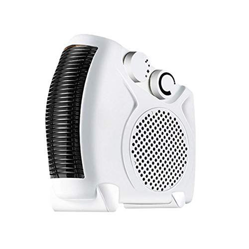 0 ℃ Outdoor Überlegene Elektrische Energieeinsparung Leise Moderne Weiße Thermostat-Ventilator Cool Blow Frei Stehend Tragegriff Heizung Raum Schlafzimmer Büro Heizer -