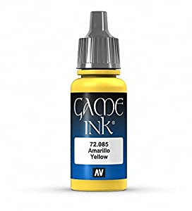 Vallejo Game Ink - Inky Yellow 17ml - VAL72085