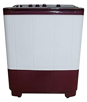 Electrolux Euro Glam Plus WM ES73GPDM Semi-automatic Top-loading Washing Machine (7.3 Kg, Maroon)