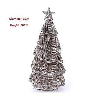 Lunkener-Mini-Modell-Weihnachtsbume-Christbaumschmuck-Tischmodell-Baum-fr-Tischdekoration-mit-blinkenden-LEDs-30-8cm