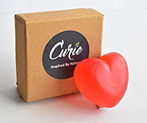 Curie Handmade soap, STRAWBERRY CRUSH SOAP, 100gm, antiaging soap, moisturizing soap, romantic gift of girls, gift for boys