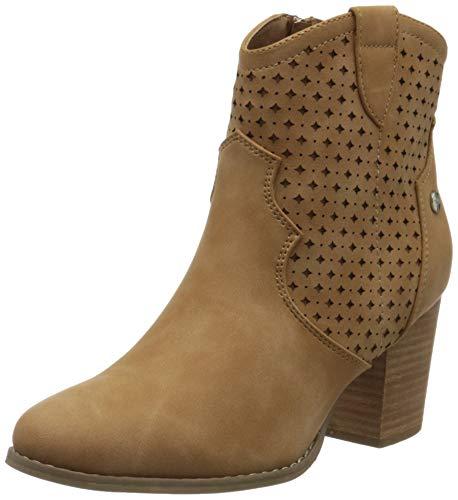 XTI 49896.0, Botines para Mujer, Marrón Camel Camel, 40 EU