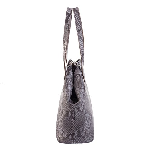 Tilla...Le Borse , sac bandoulière femme gris