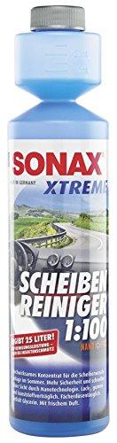 SONAX 271141 XTREME ScheibenReiniger 1:100 NanoPro, 250ml (ergeben 25 l Reinigungsflüssigkeit)