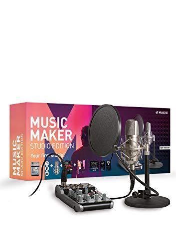 Magix Music Maker Studio Edition Vollversion, 1 Lizenz Windows Musik-Software
