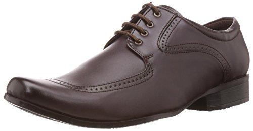 Albert & James Men's Brown Formal Shoes -7 UK/India (41 EU)(8 US)