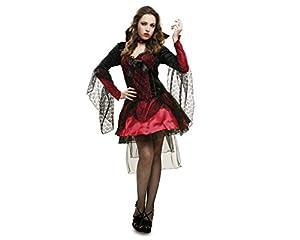 My Other Me Me - Disfraz de vampiresa oscura, para adultos, talla S (Viving Costumes MOM02267)