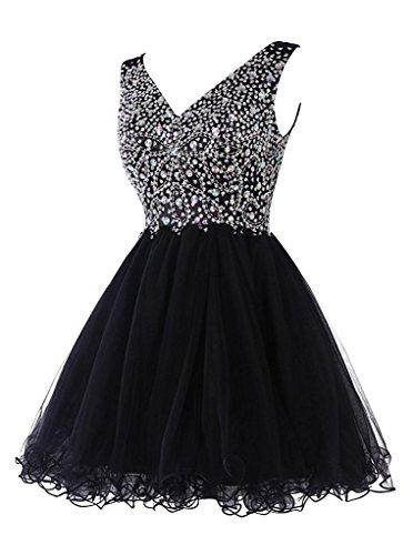 ivyd ressing robe ligne zaertlich Embout A porteur Los Prom Party robe robe du soir Schwarz