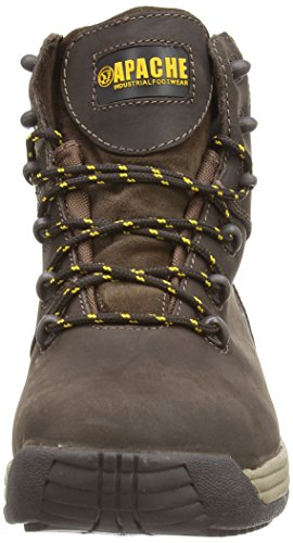 Sterling Safetywear - Scarponcini antinfortunistici, Uomo Marrone (Braun (Braun))