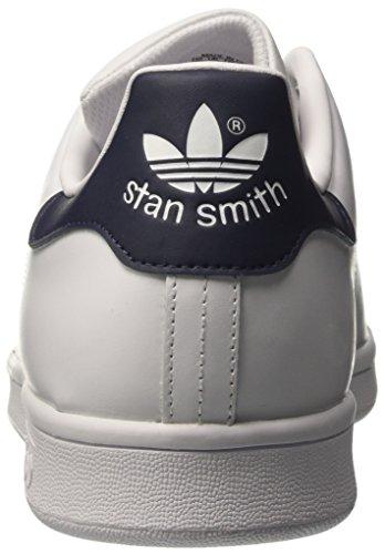 adidas Stan Smith, Sneaker a Collo Basso Unisex – Adulto Avorio (Running White/Running White/New Navy)