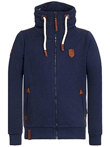Naketano Male Zipped Jacket Ivic VIII Dark Blue
