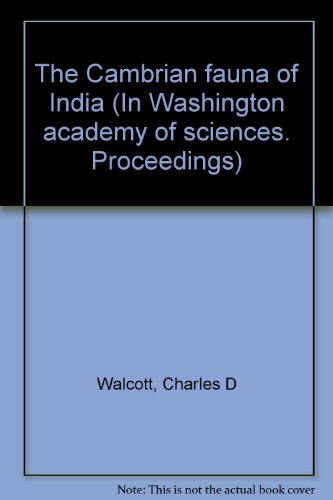 The Cambrian Fauna of India, On Basic Subsitutions in the Zeolites , Simultaneous Joints, A Feature of Mayon Volcano, The Linear Force of Growing Crystals, An Interesting Pseudosolid. Proceedings of the Washington Academy of Sciences