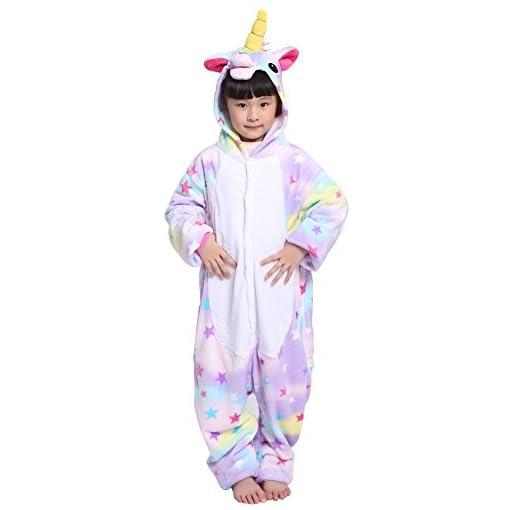 ac629e84ae0 Pijama Unicornio Pijama Animal Invierno Entero de Franela Unisex ...