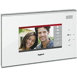 Legrand LEG369305 Ecran complémentaire tactile 7 pouces Blanc