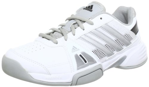 adidas Performance barricade team 3 CPT Q33997, Herren Tennisschuhe, Weiß (RUNNING WHITE FTW / METALLIC SILVER / BLACK 1), EU 46 (UK 11)