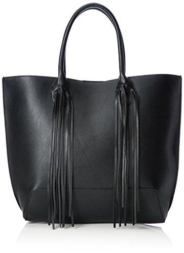 VERO MODAVMTARAH BAG - Borsa con Maniglia Donna , Nero (Nero (nero)), 34x35x13 cm (B x H x T)
