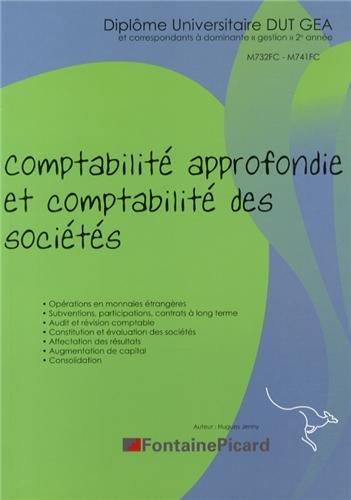 Comptabilité approfondie et comptabilité des sociétés DUT GEA