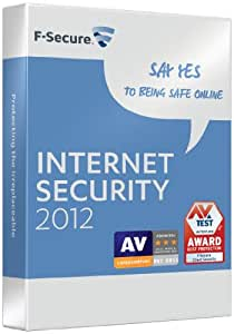 F-Secure Internet Security 2012 1 Year 3 PC (PC)