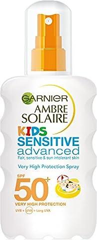 Ambre Solaire Kids Sensitive Sun Cream Spray SPF50+ 200ml