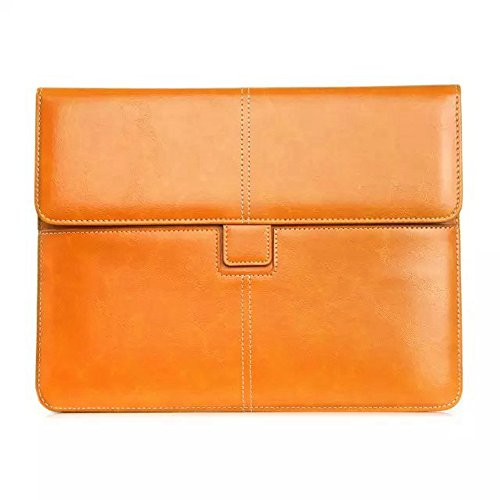 Solid Color Universal Ledertasche für Tablet 10 Zoll ( Color : Black ) Orange