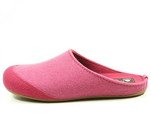 Unisex Muli Pantofole Haflinger Rosa Stanco Everest pHnpwW61x