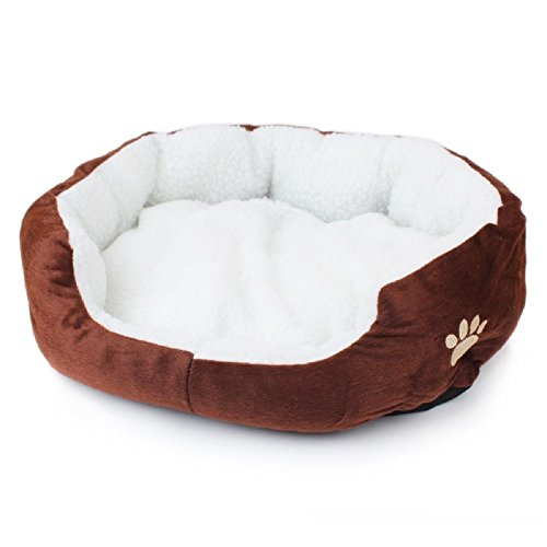 Cama mascotas, suave, lavable, perros gatos